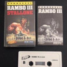 Videogiochi e Consoli: JUEGO DE ORDENADOR COMMODORE RAMBO III - ERBE - VERSION ESPAÑOLA. Lote 127541587
