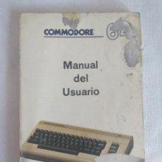 Videojuegos y Consolas: LIBRO COMMODORE 64/MANUAL DEL USUARIO.. Lote 128022767