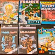 Videojuegos y Consolas: COMMODORE 64 – LOTE DE 38 JUEGOS ORIGINALES EN CASSETTE. Lote 128333059