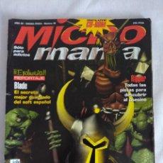 Videojuegos y Consolas: REVISTA VIDEO JUEGOS/MICROMANIA Nº20.. Lote 128347135
