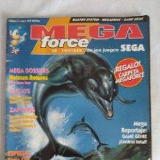 Videojuegos y Consolas: REVISTA VIDEO JUEGOS/MEGA FORCE Nº11.. Lote 128347995