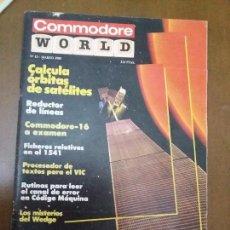 Videojuegos y Consolas: 11-00238 COMMODORE WORLD Nº13 - MARZO 1985. Lote 128828707