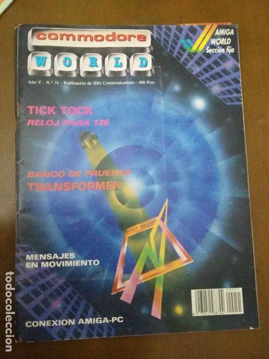 11-00239 COMMODORE WORLD Nº51 - AÑO V (Juguetes - Videojuegos y Consolas - Commodore)