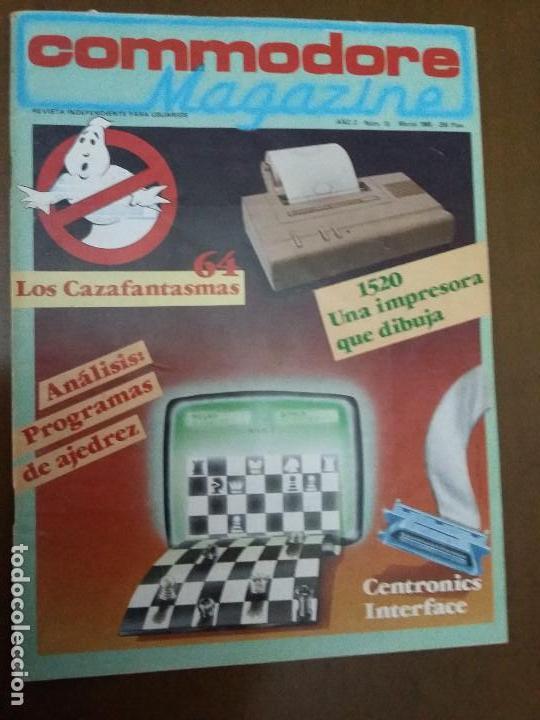 11-00241 COMMODORE MAGAZINE AÑO 2- Nº 13 - MARZO 1985 (Juguetes - Videojuegos y Consolas - Commodore)