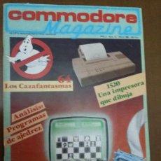 Videojuegos y Consolas: 11-00241 COMMODORE MAGAZINE AÑO 2- Nº 13 - MARZO 1985. Lote 128829047