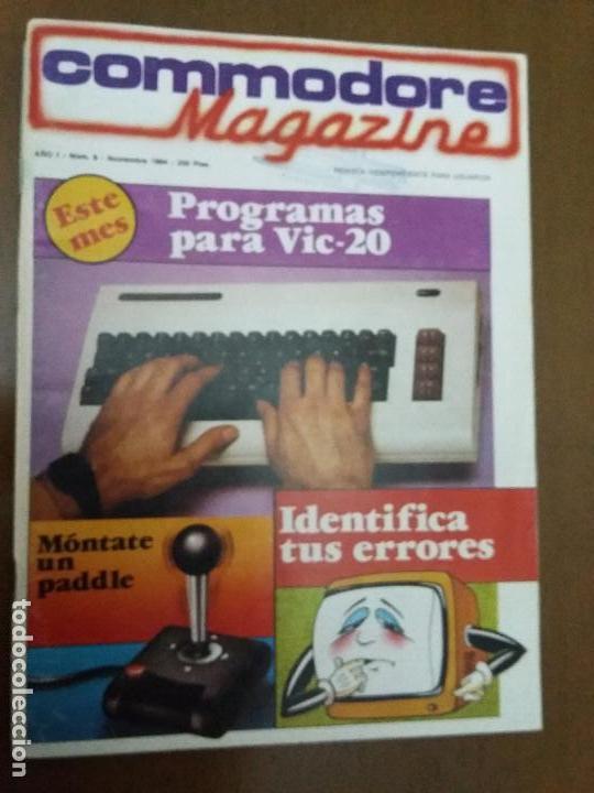 11-00242 COMMODORE MAGAZINE AÑO 1- Nº 9 - NOVIEMBRE 1984 (Juguetes - Videojuegos y Consolas - Commodore)