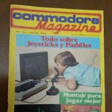 Videojuegos y Consolas: 11-00243 COMMODORE MAGAZINE AÑO 1- Nº 8 - OCTUBRE 1984. Lote 128829159