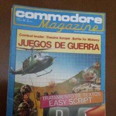 Videojuegos y Consolas: 11-00244 COMMODORE MAGAZINE AÑO 2- Nº 20 - OCTUBRE 1985. Lote 128829219