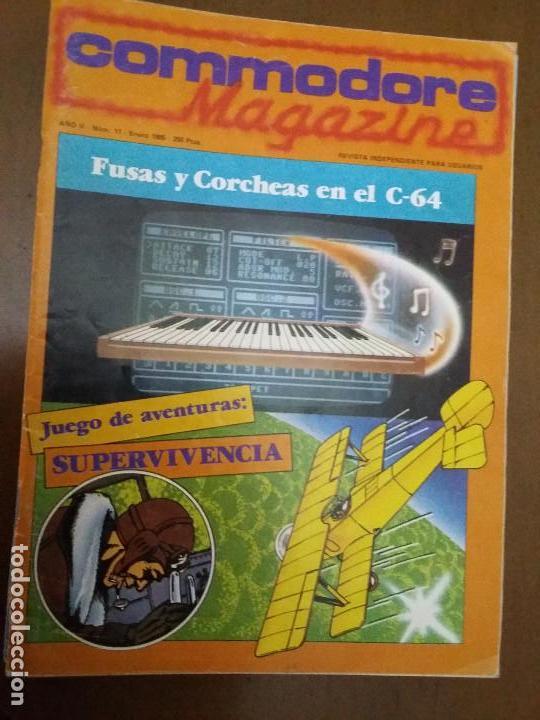 11-00245 COMMODORE MAGAZINE AÑO 2- Nº 11 - ENERO 1985 (Juguetes - Videojuegos y Consolas - Commodore)