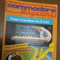 Videojuegos y Consolas: 11-00245 COMMODORE MAGAZINE AÑO 2- Nº 11 - ENERO 1985. Lote 128829299