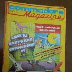 Videojuegos y Consolas: 11-00246 COMMODORE MAGAZINE AÑO 2- Nº 14 - ABRIL 1985. Lote 128829403