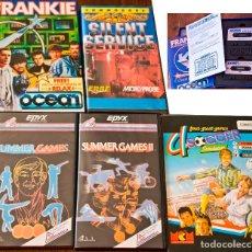 Videojuegos y Consolas: COMMODORE 64 – LOTE DE 26+3 JUEGOS ORIGINALES EN CASSETTE. Lote 128333059