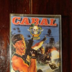 Videojuegos y Consolas: CABAL - ERBE SOFTWARE - OCEAN - COMMODORE 64 - VER FOTOS - CASSETTE . Lote 132347130