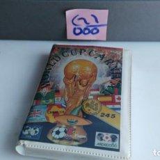 Videojuegos y Consolas: ANTIGUO JUEGO PARA COMMODORE WORLD CUP CARNIVAL. Lote 133802258