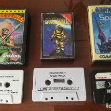 Videojuegos y Consolas: LOTE JUEGOS COMMODORE C64. Lote 133832230