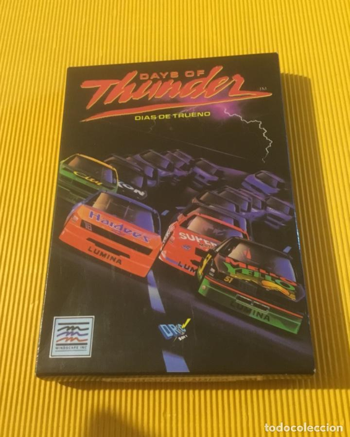 ANTIGUO VIDEOJUEGO DAYS OF THUNDER COMMODORE AMIGA (Juguetes - Videojuegos y Consolas - Commodore)