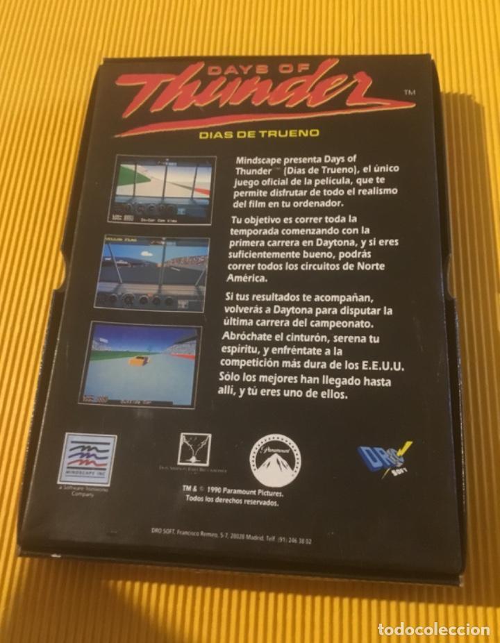Videojuegos y Consolas: Antiguo videojuego days of thunder commodore amiga - Foto 2 - 134250814