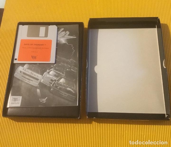 Videojuegos y Consolas: Antiguo videojuego days of thunder commodore amiga - Foto 3 - 134250814