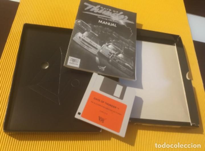 Videojuegos y Consolas: Antiguo videojuego days of thunder commodore amiga - Foto 4 - 134250814