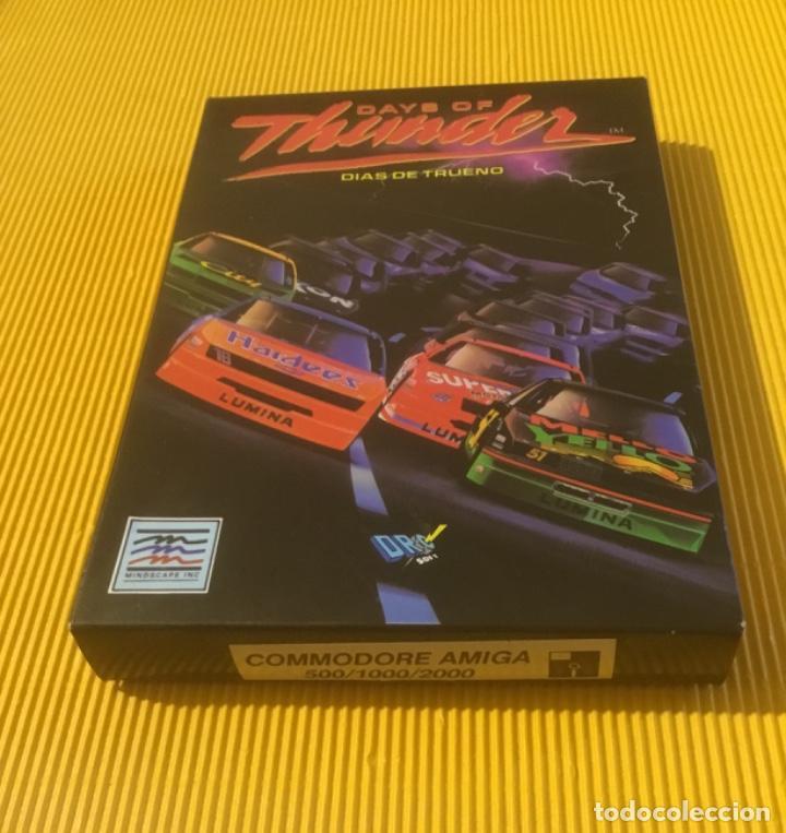 Videojuegos y Consolas: Antiguo videojuego days of thunder commodore amiga - Foto 5 - 134250814