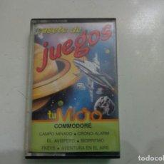 Videojuegos y Consolas: JUEGO 'CASETE DE JUEGOS: TU MICRO' COMMODORE. Lote 135368614