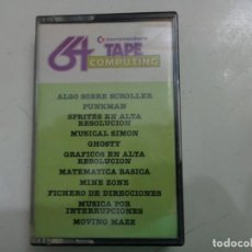 Videojuegos y Consolas: JUEGO '64 TAPE COMPUTING Nº 2' COMMODORE. Lote 135369058