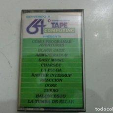 Videojuegos y Consolas: JUEGO '64 TAPE COMPUTING Nº 3' COMMODORE. Lote 219136082