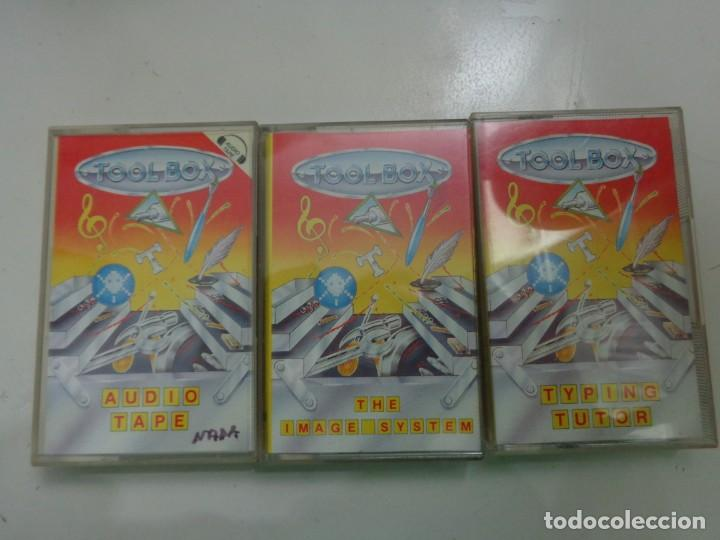 LOTE JUEGOS 'TOOL BOX' COMMODORE (Juguetes - Videojuegos y Consolas - Commodore)