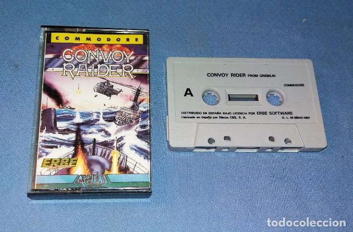 Videojuegos y Consolas: JUEGO CONVOY RAIDER DE COMMODORE ORIGINAL MUY BUEN ESTADO DE CONSERVACION VER FOTOS Y DESCRIPCION - Foto 2 - 135812006