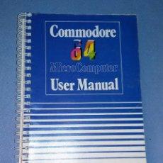 Videojuegos y Consolas: USER MANUAL DE COMMODORE AÑO 1984 ORIGINAL MUY BUEN ESTADO DE CONSERVACION VER FOTOS Y DESCRIPCION. Lote 135826210
