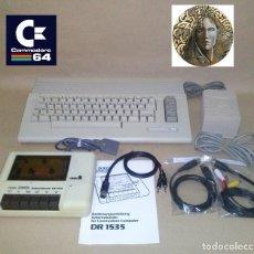 Videojuegos y Consolas: RETRO-ORDENADOR COMMODORE 64 C + LECTOR DE CASSETTES,FUENTE DE ALIMENTACION Y CABLES DE CONEXION...+. Lote 132850874
