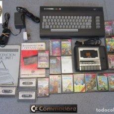 Videojuegos y Consolas: RETRO ORDENADOR *COMMODORE 16 + ACCESORIOS Y JUEGOS* FUNCIONANDO Y EN BUEN ESTADO.. Lote 137938562
