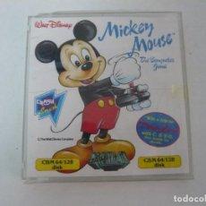 Videojuegos y Consolas: MICKEY MOUSE / JUEGO DISCO DISKETTE / COMMODORE 64 C64 / RETRO VINTAGE / EN BUEN ESTADO. Lote 138517362