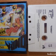 Videojuegos y Consolas: JUEGO EN CINTA DE CASSETTE PARA CONSOLA - COMMODORE 64 128 - BOMBO - SERIE 399 - RINO - 1987. Lote 139249338