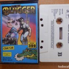 Videojuegos y Consolas: JUEGO EN CINTA DE CASSETTE PARA CONSOLA - COMMODORE 64 128 - SON OF BLAGGE - SERIE 399 - ALLIGATA. Lote 139249366