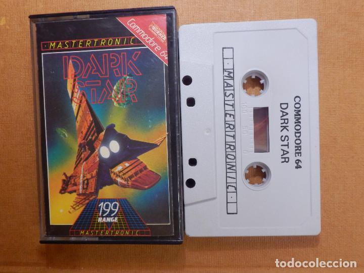 JUEGO EN CINTA DE CASSETTE PARA CONSOLA - COMMODORE 64 - DARK STAR - MASTERTRONIC - 199 RANGE - 1984 (Juguetes - Videojuegos y Consolas - Commodore)