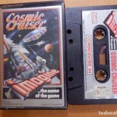 Videojuegos y Consolas: JUEGO EN CINTA DE CASSETTE PARA CONSOLA - COMMODORE 64 - COSMIC CRUISER - IMAGINE . Lote 139249486