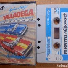 Videojuegos y Consolas: JUEGO EN CINTA DE CASSETTE PARA CONSOLA - COMMODORE 64 - TALLADEGA, RICHARD PETTYS - AUDIOGENIC 1985. Lote 139249510