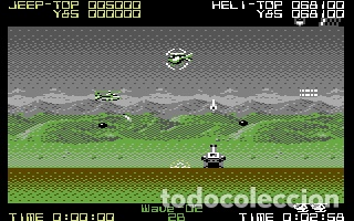 Videojuegos y Consolas: SilkWorm [Storm / The Sales Curve] 1989 Tecmo / Mastertronic Plus [Commodore 64 C64] - Foto 5 - 54058556