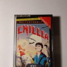 Videojuegos y Consolas: CHILLER JUEGO COMMODORE 64 - MASTERTRONIC 1985 - AMBIENTADO EN VIDEOCLIP THRILLER DE MICHAEL JACKSON. Lote 139364254