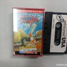 Videojuegos y Consolas: STREET SURFER - COMMODORE. Lote 139893446