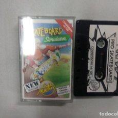 Videojuegos y Consolas: SKATEBOARD SIMULATOR - COMMODORE. Lote 139893630