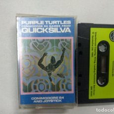 Videojuegos y Consolas: PURPLE TURTLES - COMMODORE. Lote 139893826