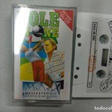 Videojuegos y Consolas: HOLE IN ONE - COMMODORE. Lote 139894010