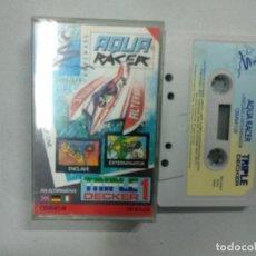 Videojuegos y Consolas: AQUA RACER - COMMODORE. Lote 139894206