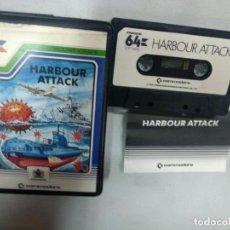Videojuegos y Consolas: HARBOUR ATTACK - COMMODORE. Lote 139894558