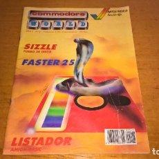 Videojuegos y Consolas: COMMODORE WORLD Nº47. Lote 140157510