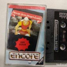 Videojuegos y Consolas: ESCAPE FROM SINGED'S CASTLE - COMMODORE . Lote 140376882