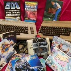 Videojuegos y Consolas: ¡¡ GRAN LOTE COMMODORE 64 !! - 2 CONSOLAS, DISQUETERA, MANUAL JUEGOS Y MAS...... Lote 143165982