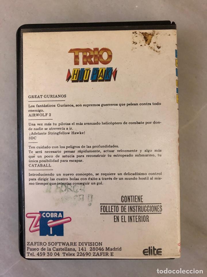 Videojuegos y Consolas: Trio hit pak c64 commodore 64 edición zafiro software - Foto 2 - 143406970